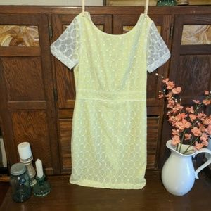 Antonio Melani Yellow Dress Size 8
